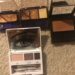 Clinique eyeshadow kit + Revlon bronzer and Other
